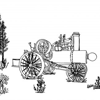 1903 Russell Traction Engine_300DPI